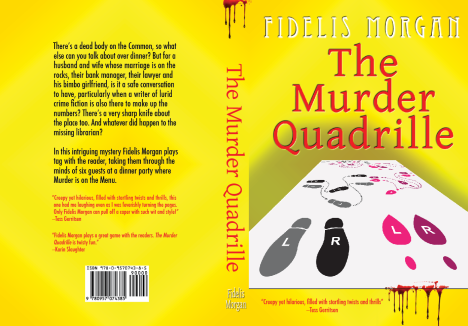 The Murder Quadrille - cover