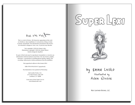 Copyright and Title Page spread